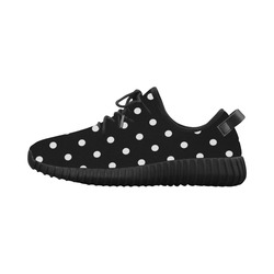 polkadots20160614 Grus Women's Breathable Woven Running Shoes (Model 022)