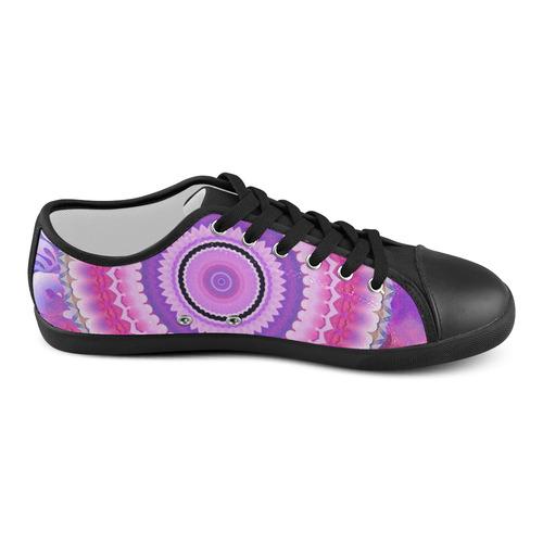 Freshness Energy Mandala Women's Canvas Shoes (Model 016)