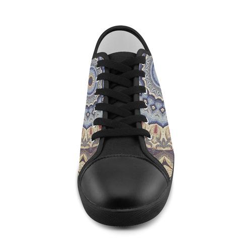Soft and Warm Mandala Women's Canvas Shoes (Model 016)