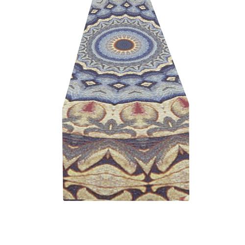 Soft and Warm Mandala Table Runner 16x72 inch