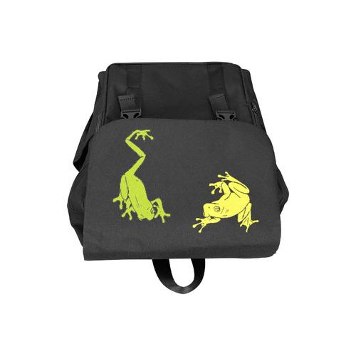 Froggy Love Casual Shoulders Backpack (Model 1623)