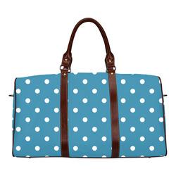 polkadots20160609 Waterproof Travel Bag/Small (Model 1639)