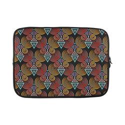 "Lovely Geometric LOVE Hearts Pattern Custom Sleeve for Laptop 15.6"""