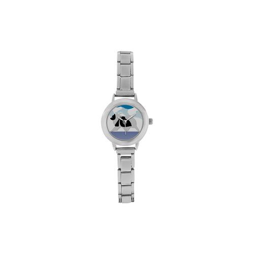 Keeshond  Rockin the Rockies 2 Women's Italian Charm Watch(Model 107)