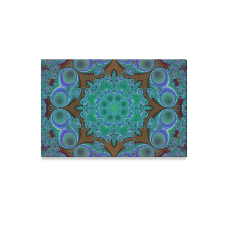 "fractal pattern 1 Canvas Print 12""x18"""