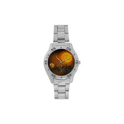 Space scenario - The Apocalypse Men's Stainless Steel Analog Watch(Model 108)