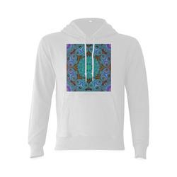fractal pattern 1 Gildan Hoodie Sweatshirt (Model H03)