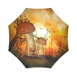 The mushroom house Foldable Umbrella (Model U01)
