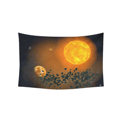 "Space scenario - The Apocalypse Cotton Linen Wall Tapestry 60""x 40"""