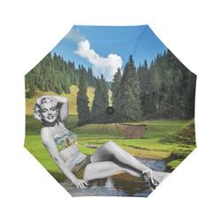 Marilyn In Transylvania Umbrella Auto-Foldable Umbrella (Model U04)