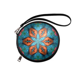 Synchronized Swimmers Round Makeup Bag (Model 1625)