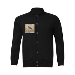 Wonderful wild horse Men's Baseball jacket (Model H12)