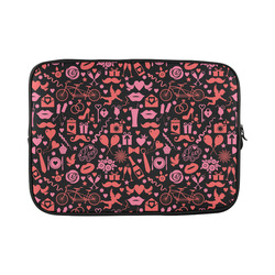 "Pink Love Custom Sleeve for Laptop 15.6"""