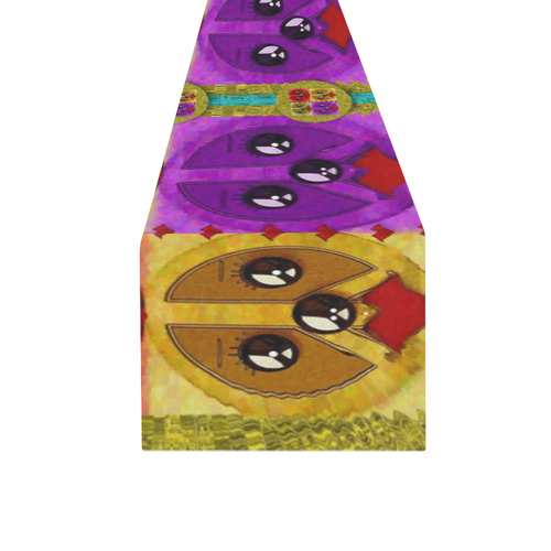 peace dogs Table Runner 16x72 inch