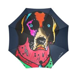 Pointer Popart by Nico Bielow Foldable Umbrella (Model U01)
