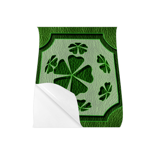 "Leather-Look Irish Clover Poster 20""x24"""