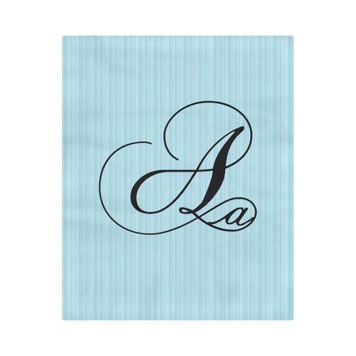 """Alphabet A - Jera Nour Duvet Cover 86""""x70"""" ( All-over-print)"""