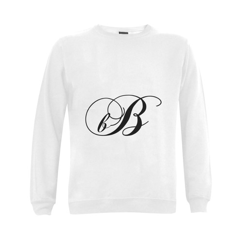 Alphabet B - Jera Nour Gildan Crewneck Sweatshirt(NEW) (Model H01)