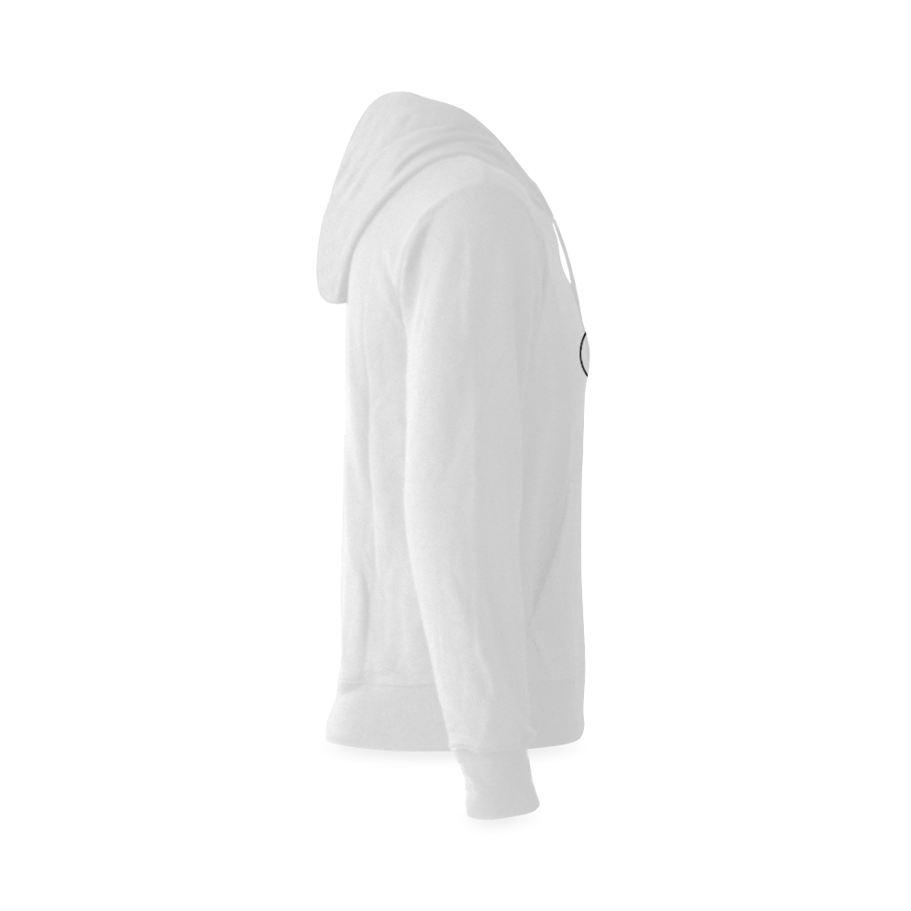 Alphabet B - Jera Nour Gildan Hoodie Sweatshirt (Model H03)