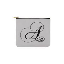 Alphabet A - Jera Nour Carry-All Pouch 6''x5''
