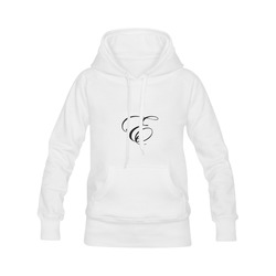 Alphabet E - Jera Nour Women's Classic Hoodies (Model H07)