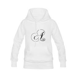 Alphabet A - Jera Nour Women's Classic Hoodies (Model H07)
