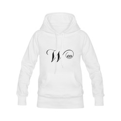Alphabet W - Jera Nour Men's Classic Hoodies (Model H10)