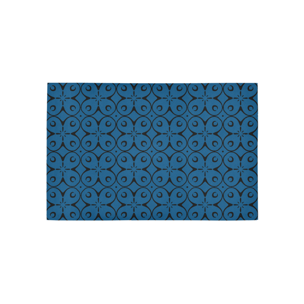 My Lucky Day Snorkel Blue Area Rug 5'x3'3''
