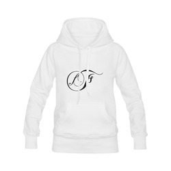 Alphabet F - Jera Nour Women's Classic Hoodies (Model H07)