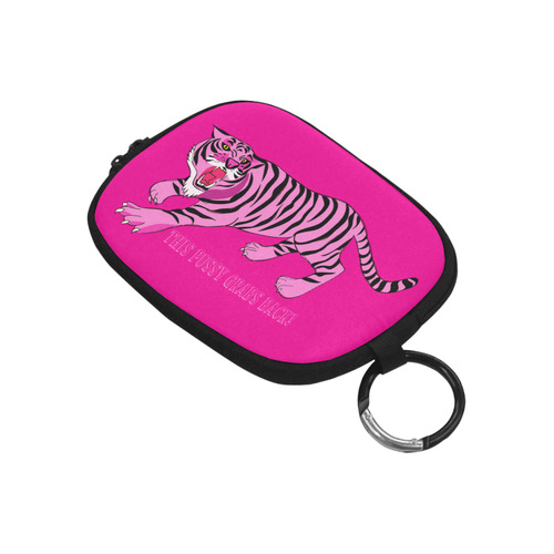 This Pussy Grabs Back! Coin Purse (Model 1605)