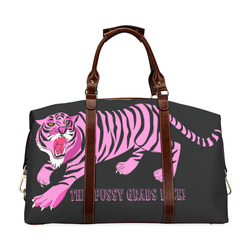 This Pussy Grabs Back! Classic Travel Bag (Model 1643) Remake