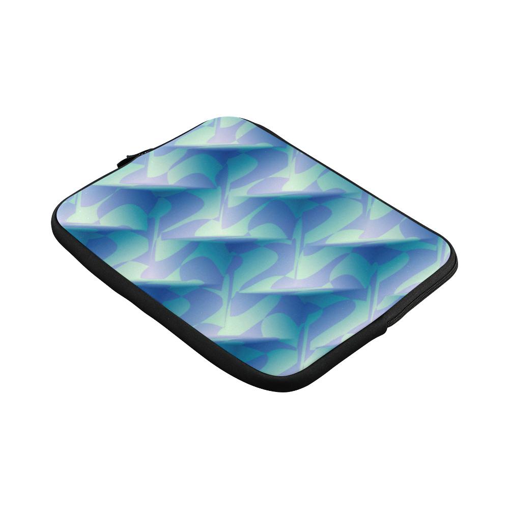 Subtle Blue Cubik - Jera Nour Macbook Pro 13''