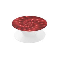 Glossy Red Spiral Fractal Air Smart Phone Holder