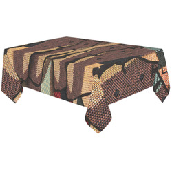 """African tapestry Cotton Linen Tablecloth 60""""x120"""""""