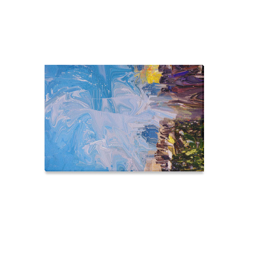 "SPLASH 4 Canvas Print 12""x18"""