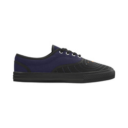 Our Solar System Aries Women's Canvas Shoes (Model 029)