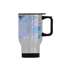 SPLASH 4 Travel Mug (Silver) (14 Oz)