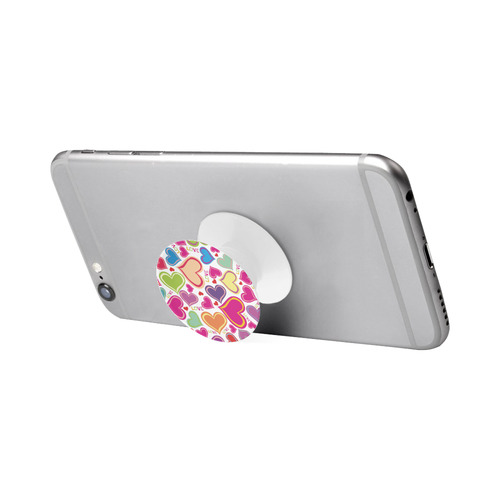 cute hearts background Air Smart Phone Holder