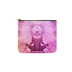 Holy Yoga Lotus Meditation Carry-All Pouch 6''x5''