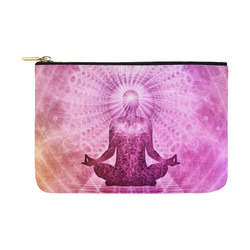 Holy Yoga Lotus Meditation Carry-All Pouch 12.5''x8.5''