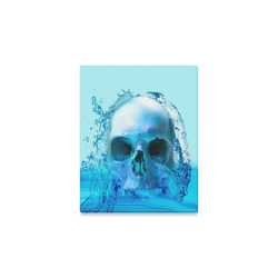 """Skull in Water Canvas Print 8""""x10"""""""