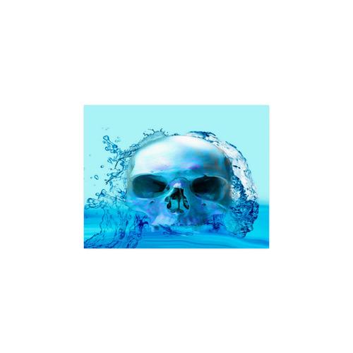"Skull in Water Poster 11""x8.5"""