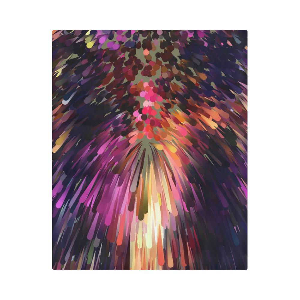 """Splash Boom Bang by Artdream Duvet Cover 86""""x70"""" ( All-over-print)"""