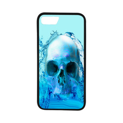 "Skull in Water Rubber Case for iPhone 7 (4.7"")"