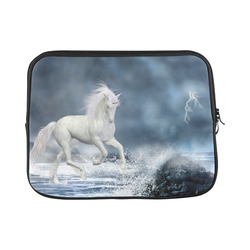 A white Unicorn wading in the water Macbook Pro 13''