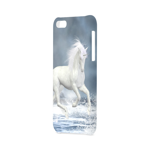 A white Unicorn wading in the water Hard Case for iPhone 5C