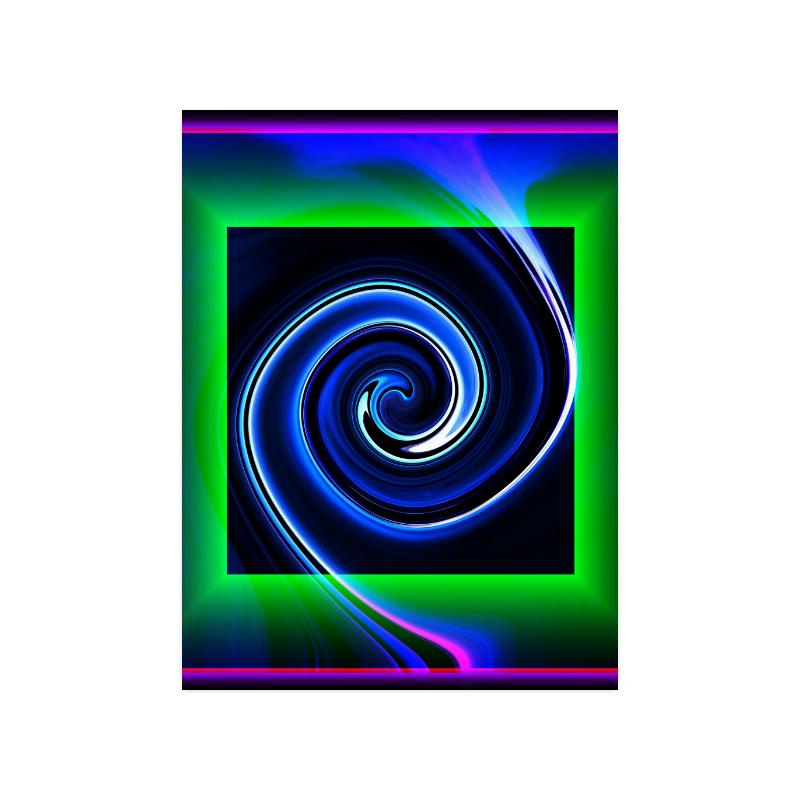 """Dance in Neon - Jera Nour Poster 18""""x24"""""""