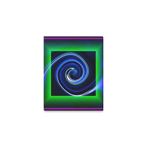 "Dance in Neon - Jera Nour Canvas Print 10""x8"""