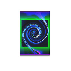 "Dance in Neon - Jera Nour Canvas Print 12""x18"""