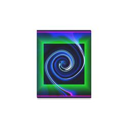 "Dance in Neon - Jera Nour Canvas Print 8""x10"""